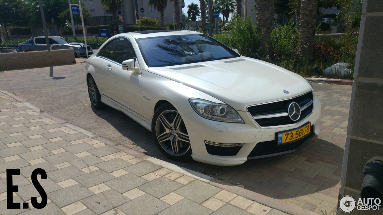 Mercedes Benz Cl 63 Amg C216 2011 1 January 2018