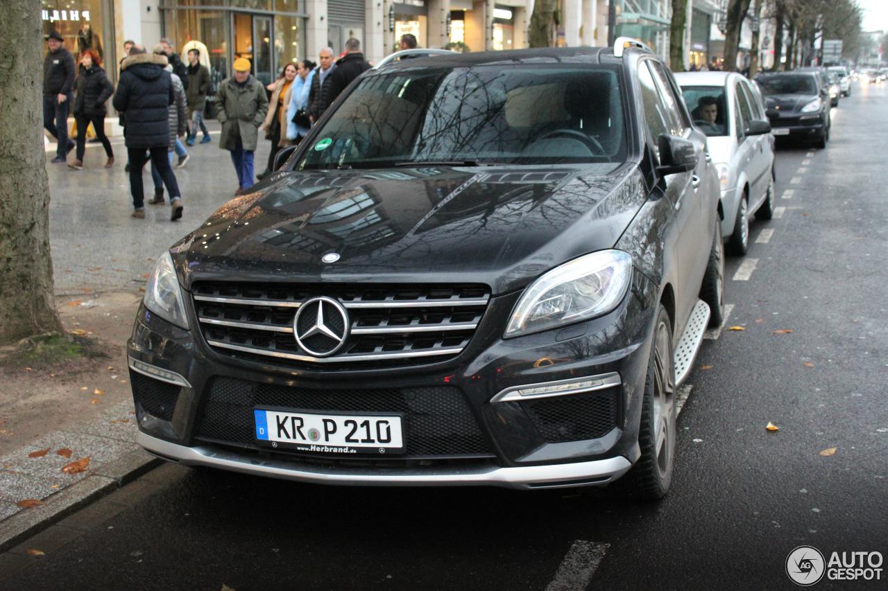 Mercedes Benz Ml 63 Amg W166 1 Januari 2018 Autogespot