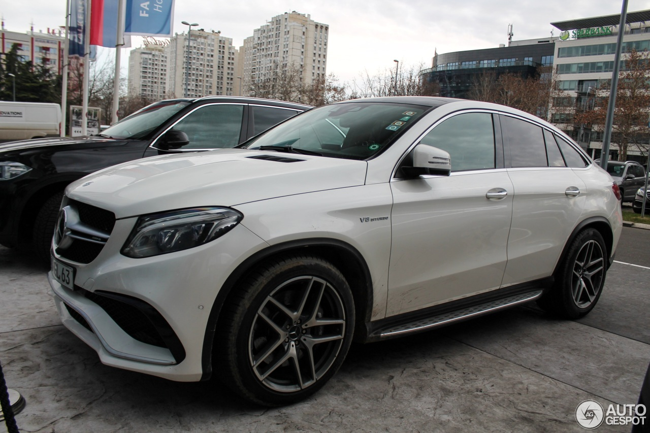 mercedes amg gle 63 coupe 2 january 2018 autogespot. Black Bedroom Furniture Sets. Home Design Ideas