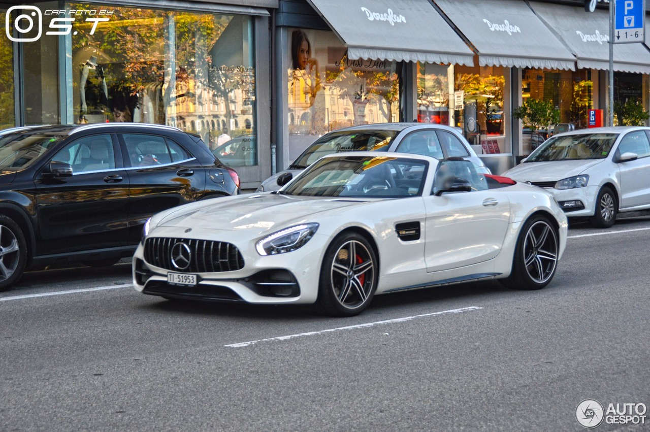 mercedes amg gt c roadster r190 2 january 2018 autogespot. Black Bedroom Furniture Sets. Home Design Ideas