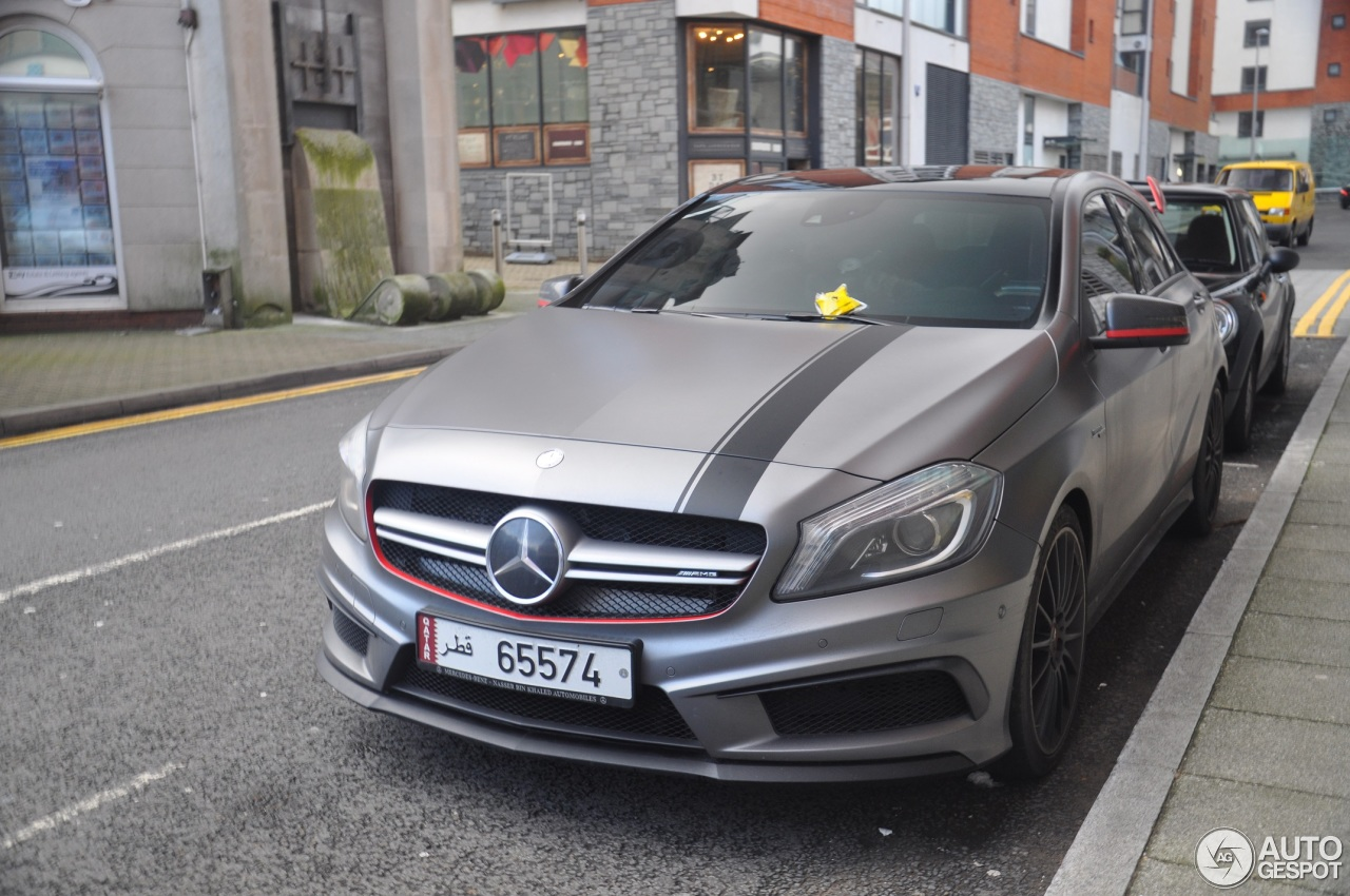 mercedes benz a 45 amg edition 1 2 january 2018 autogespot. Black Bedroom Furniture Sets. Home Design Ideas