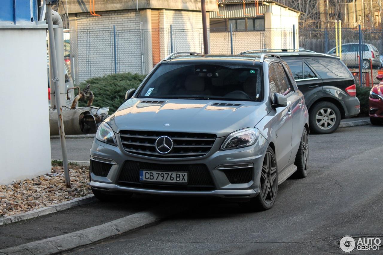 Mercedes Benz Ml 63 Amg W166 2 Januari 2018 Autogespot