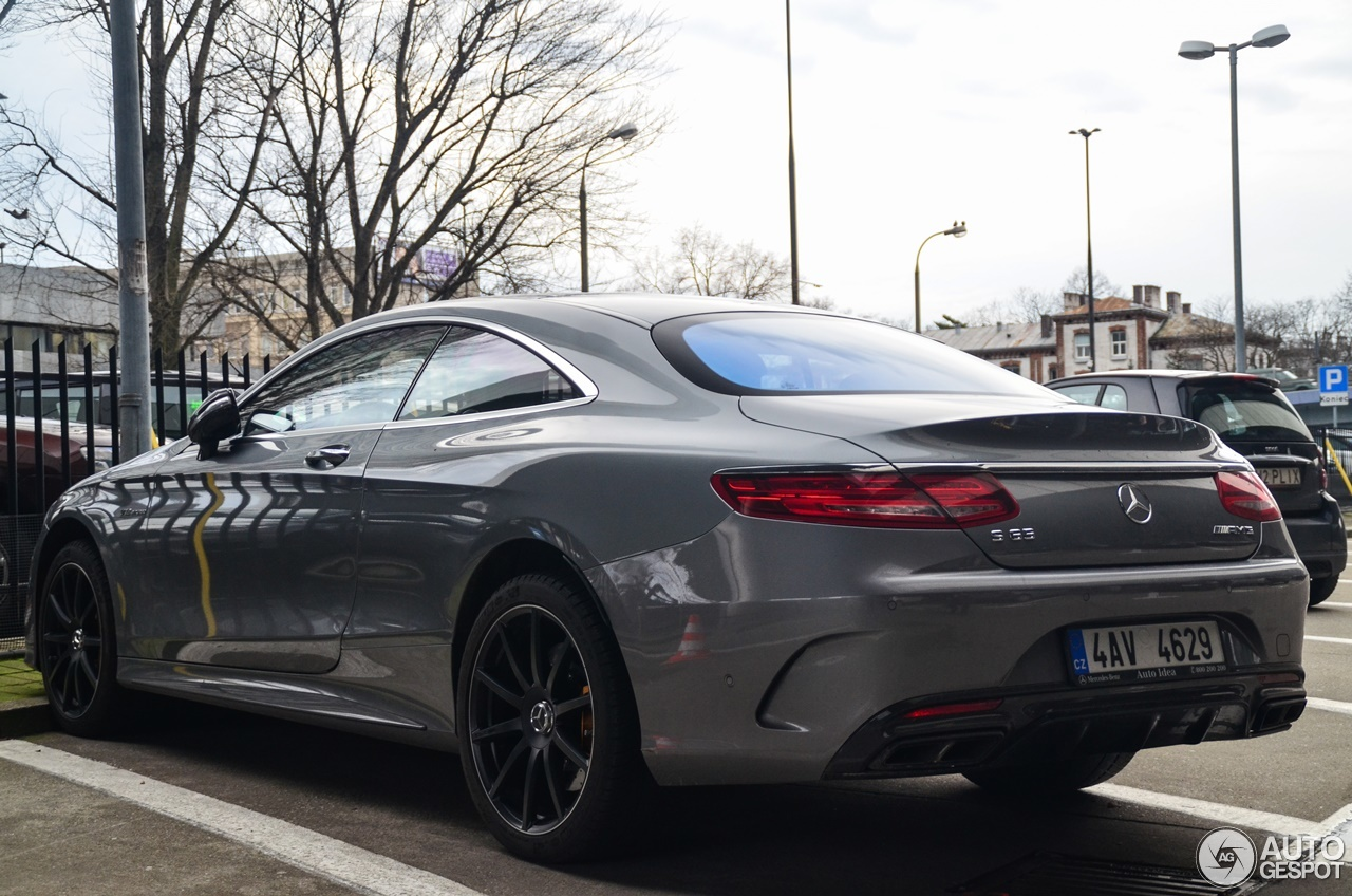 Mercedes-Benz S 65 AMG Coupé C217 - 3 January 2018 - Autogespot