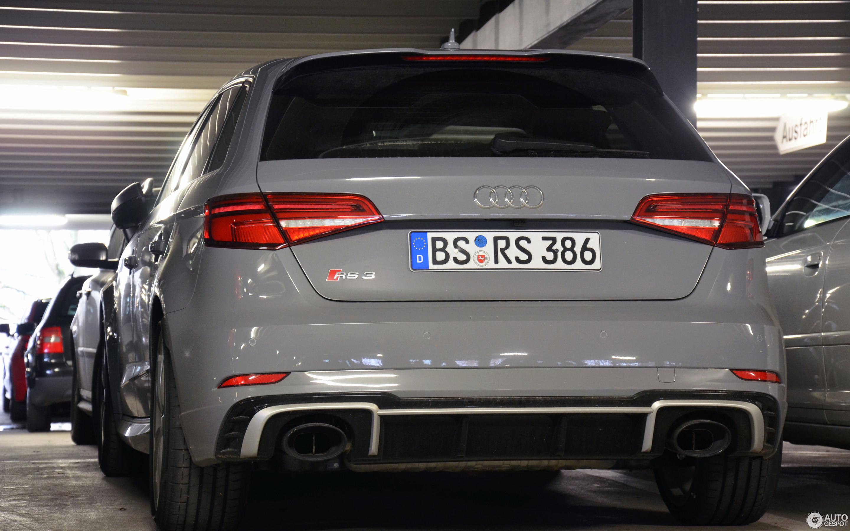 Audi RS Sportback V January Autogespot - Audi rs3
