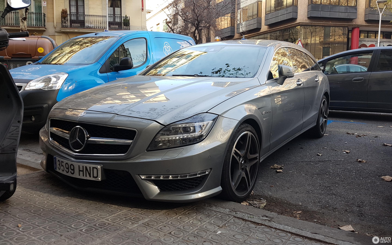 Mercedes Benz CLS 63 AMG X218 Shooting Brake