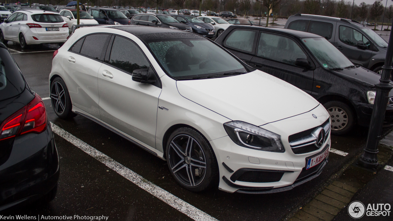 Mercedes benz a 45 amg 4 stycze 2018 autogespot for Mercedes benz a 45