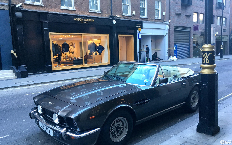 Aston Martin V Vantage Volante January Autogespot - 1986 aston martin vantage
