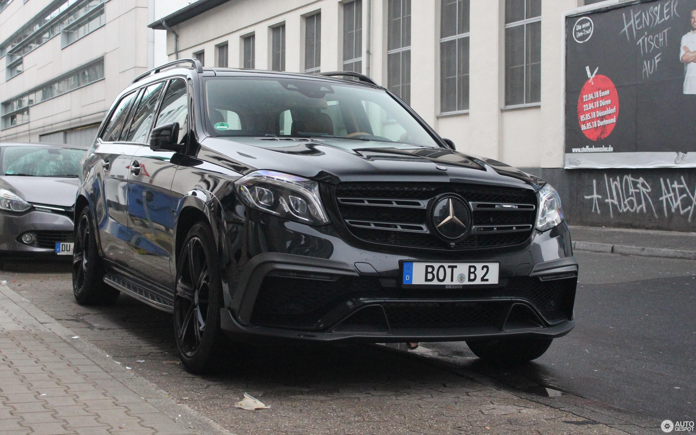 Mercedes Amg Brabus Gls 850 6 0 Biturbo 4 January 2018 Autogespot