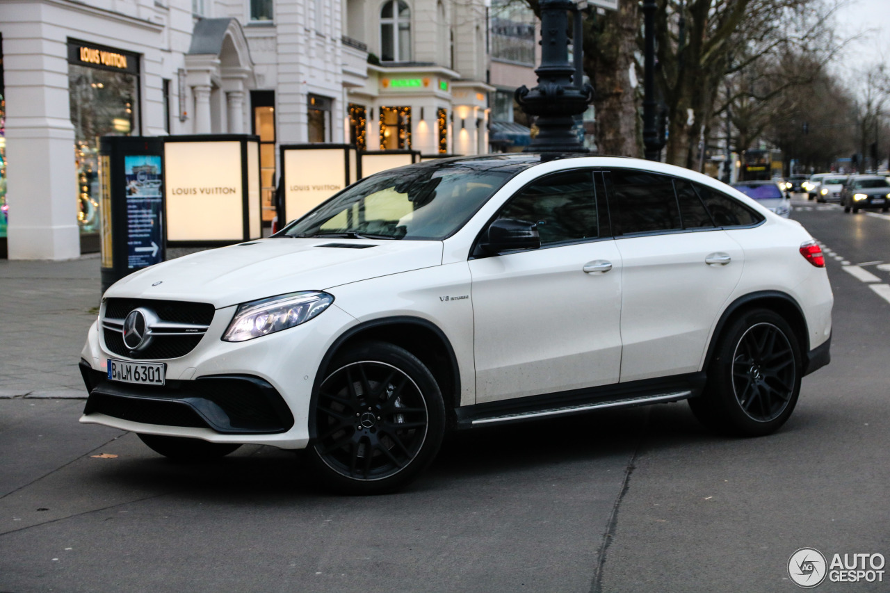 mercedes amg gle 63 coup c292 6 stycze 2018 autogespot. Black Bedroom Furniture Sets. Home Design Ideas