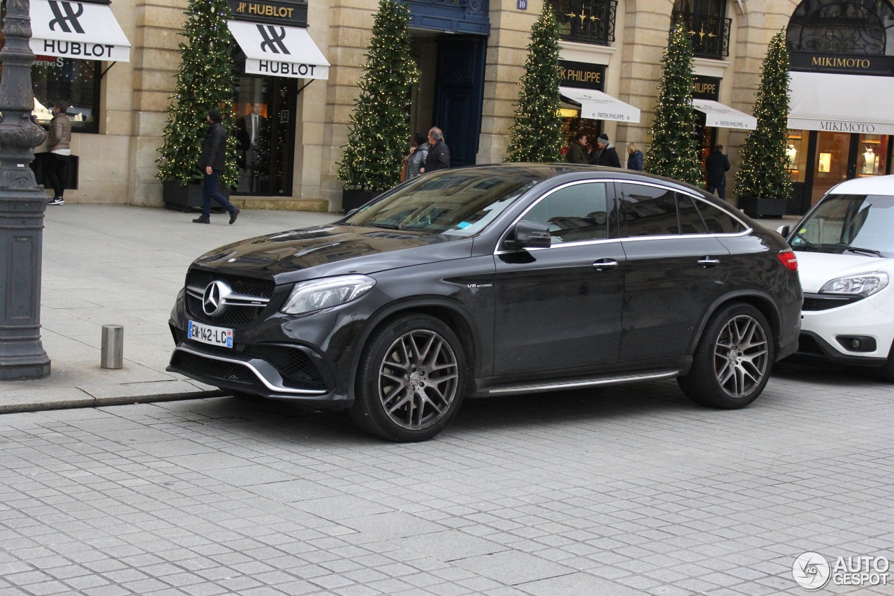 mercedes amg gle 63 s coup 6 january 2018 autogespot. Black Bedroom Furniture Sets. Home Design Ideas