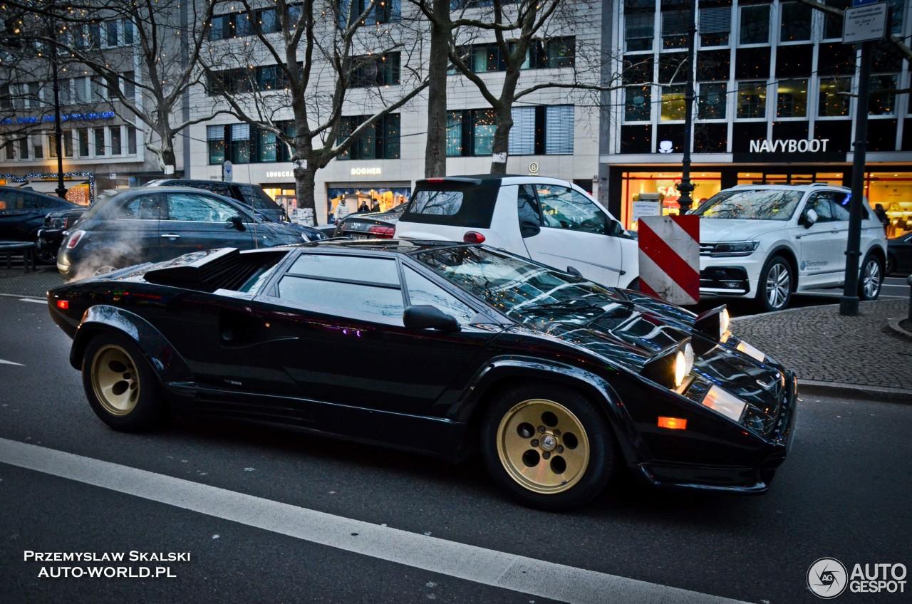 Lamborghini Countach 5000 Quattrovalvole 7 Januar 2018