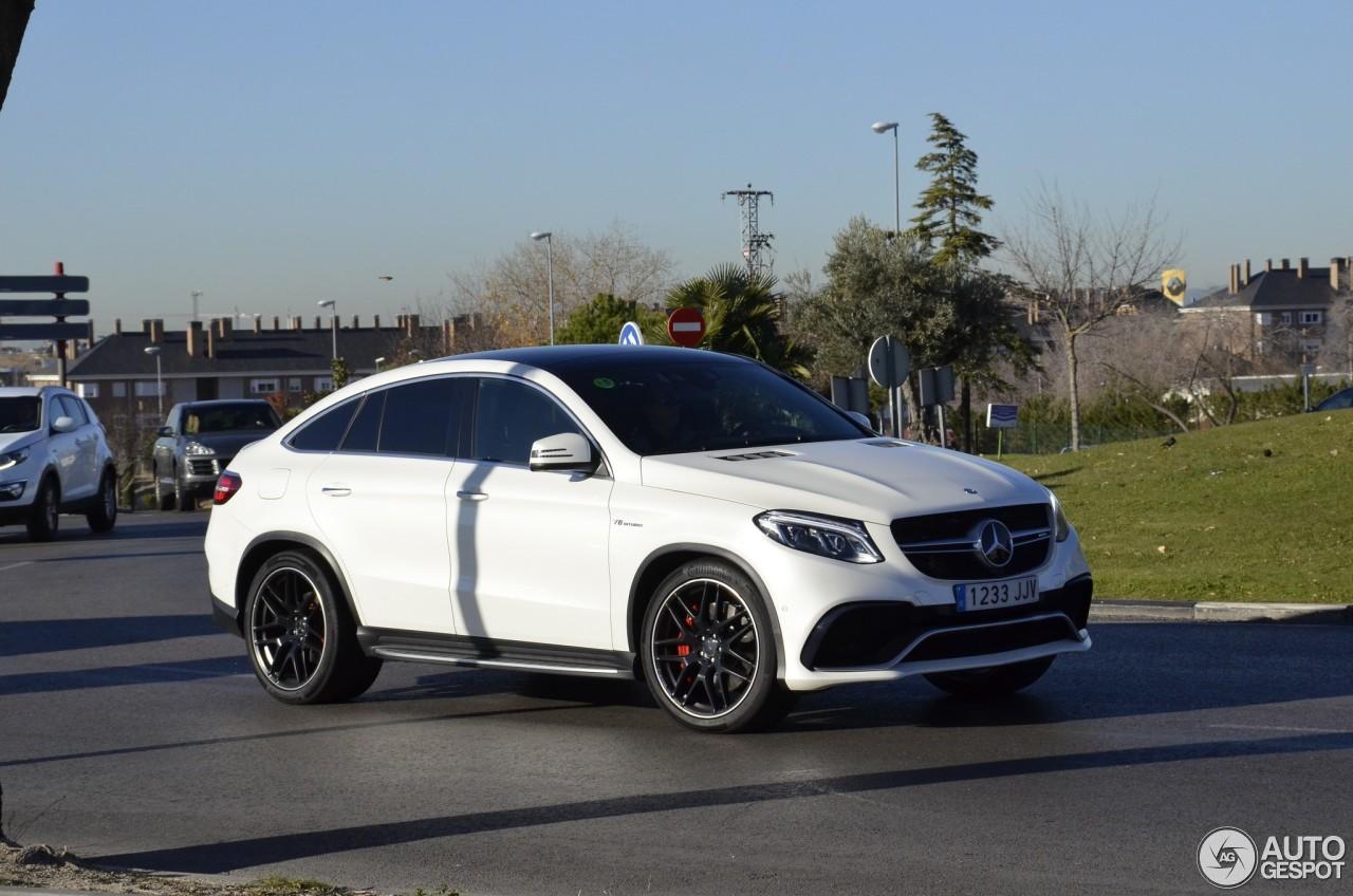 Mercedes Amg Gle 63 Coupe 7 January 2018 Autogespot