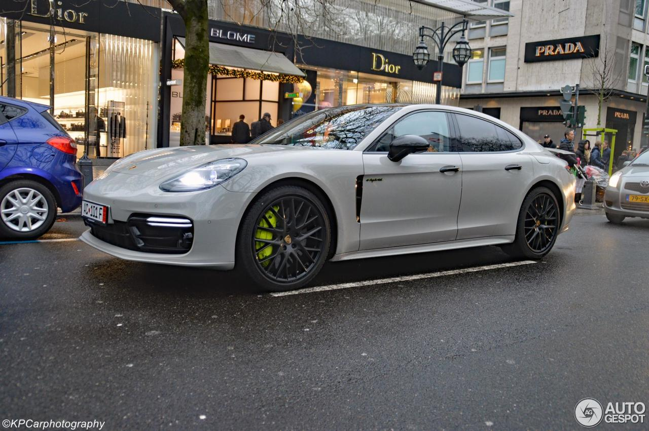 porsche 971 panamera turbo s e hybrid 7 january 2018 autogespot. Black Bedroom Furniture Sets. Home Design Ideas