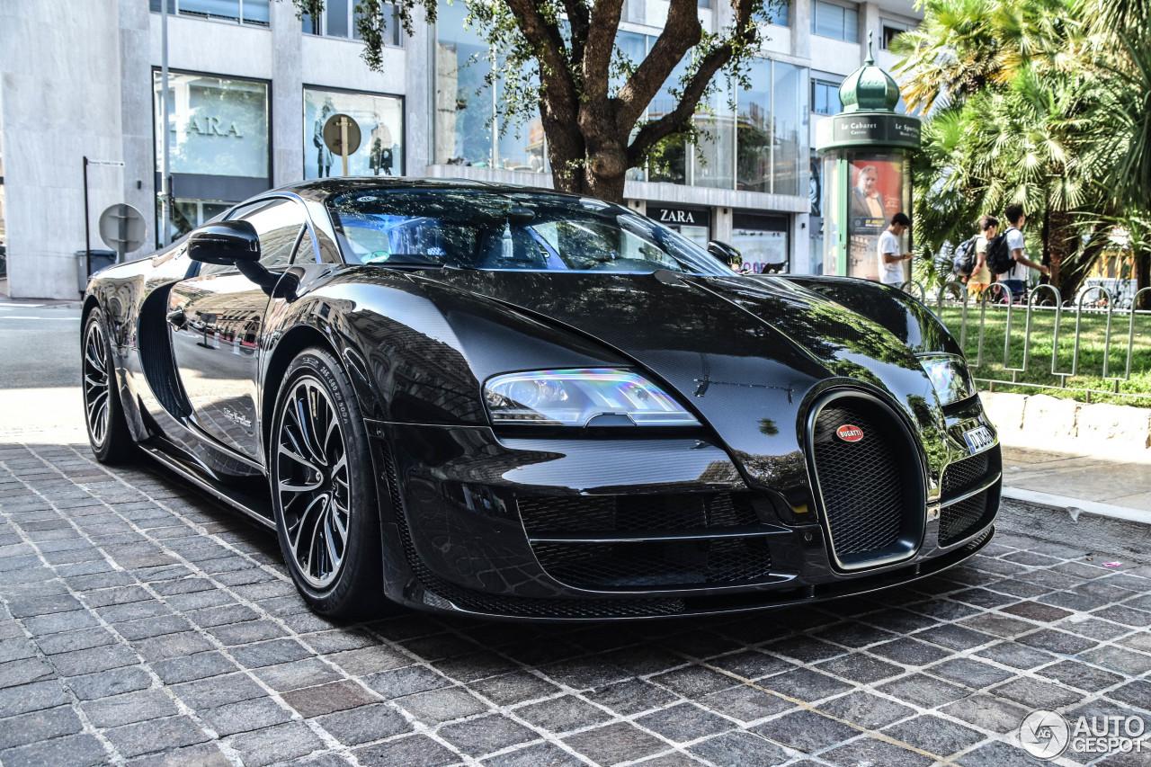 bugatti veyron 16.4 super sport edition merveilleux - 9 janvier