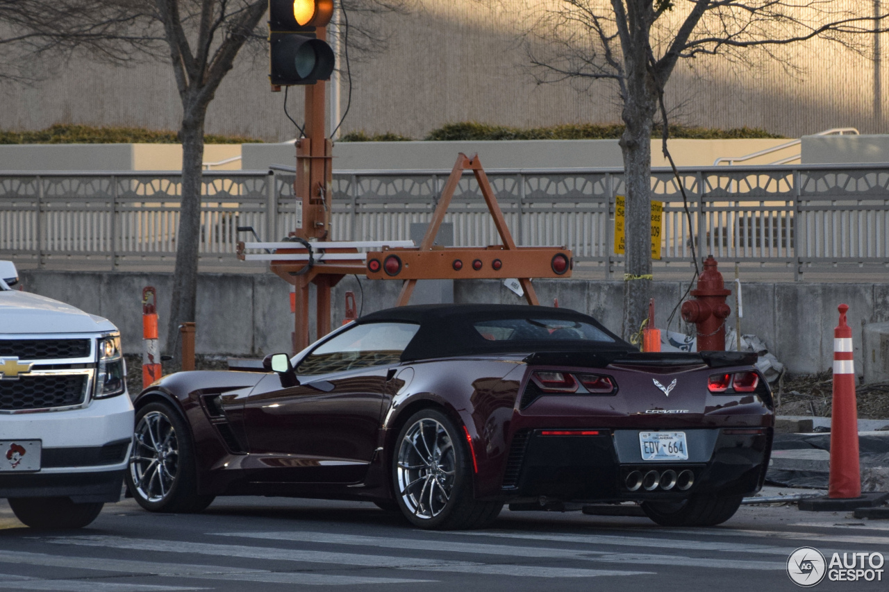Chevrolet Corvette C7 Grand Sport Convertible 9 January