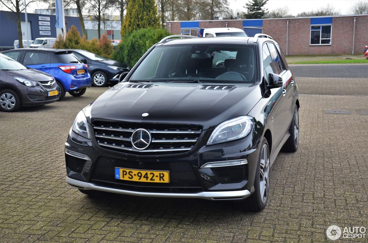 Mercedes Benz Ml 63 Amg W166 9 January 2018 Autogespot