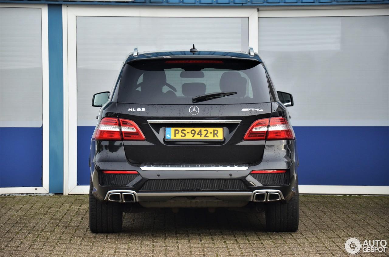 Mercedes Benz Ml 63 Amg W166 9 Januar 2018 Autogespot