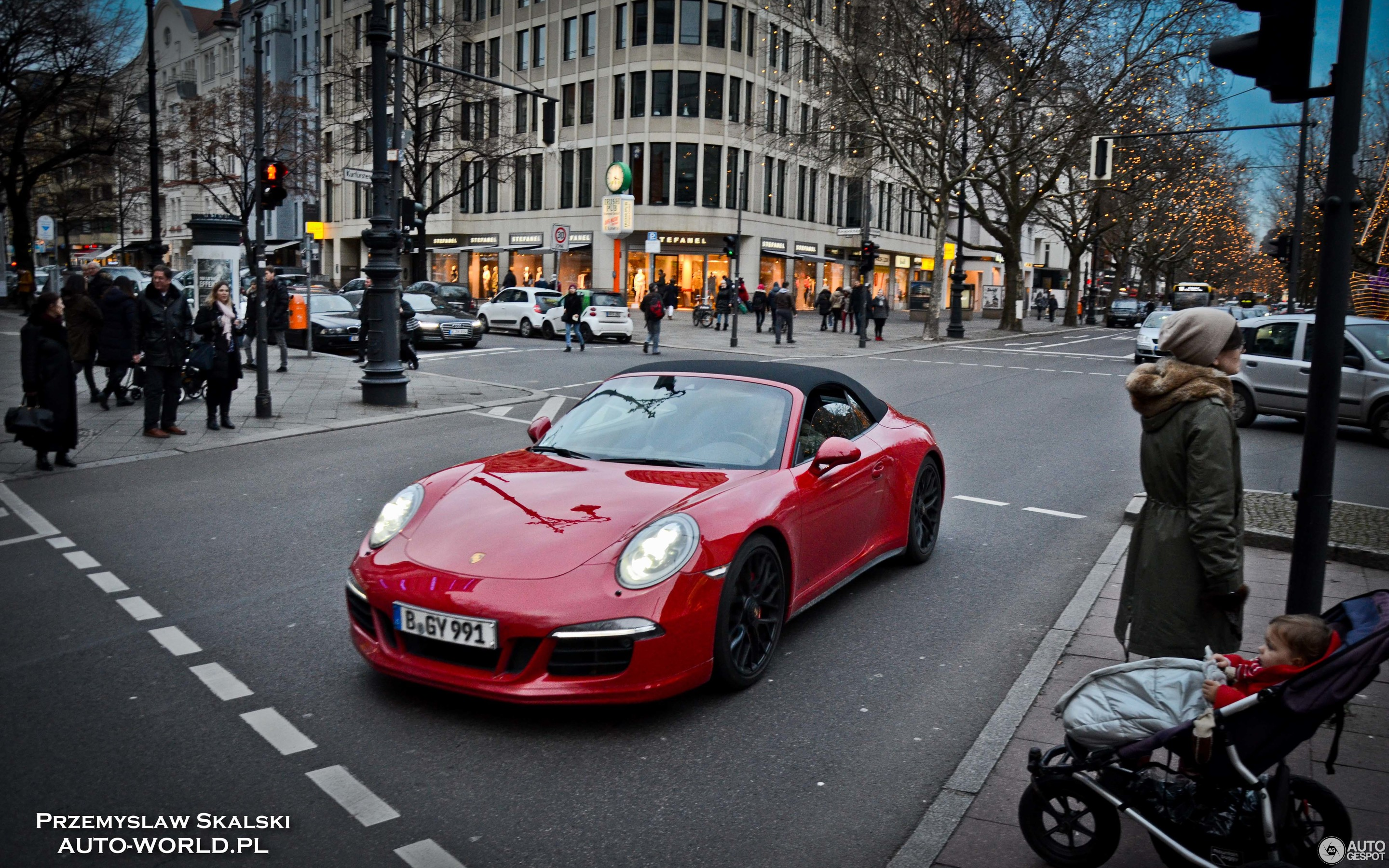 Porsche 991 Carrera Gts Cabriolet 9 January 2018 Autogespot