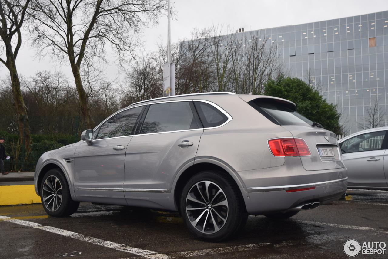 Bentley Bentayga Diesel 10 January 2018 Autogespot