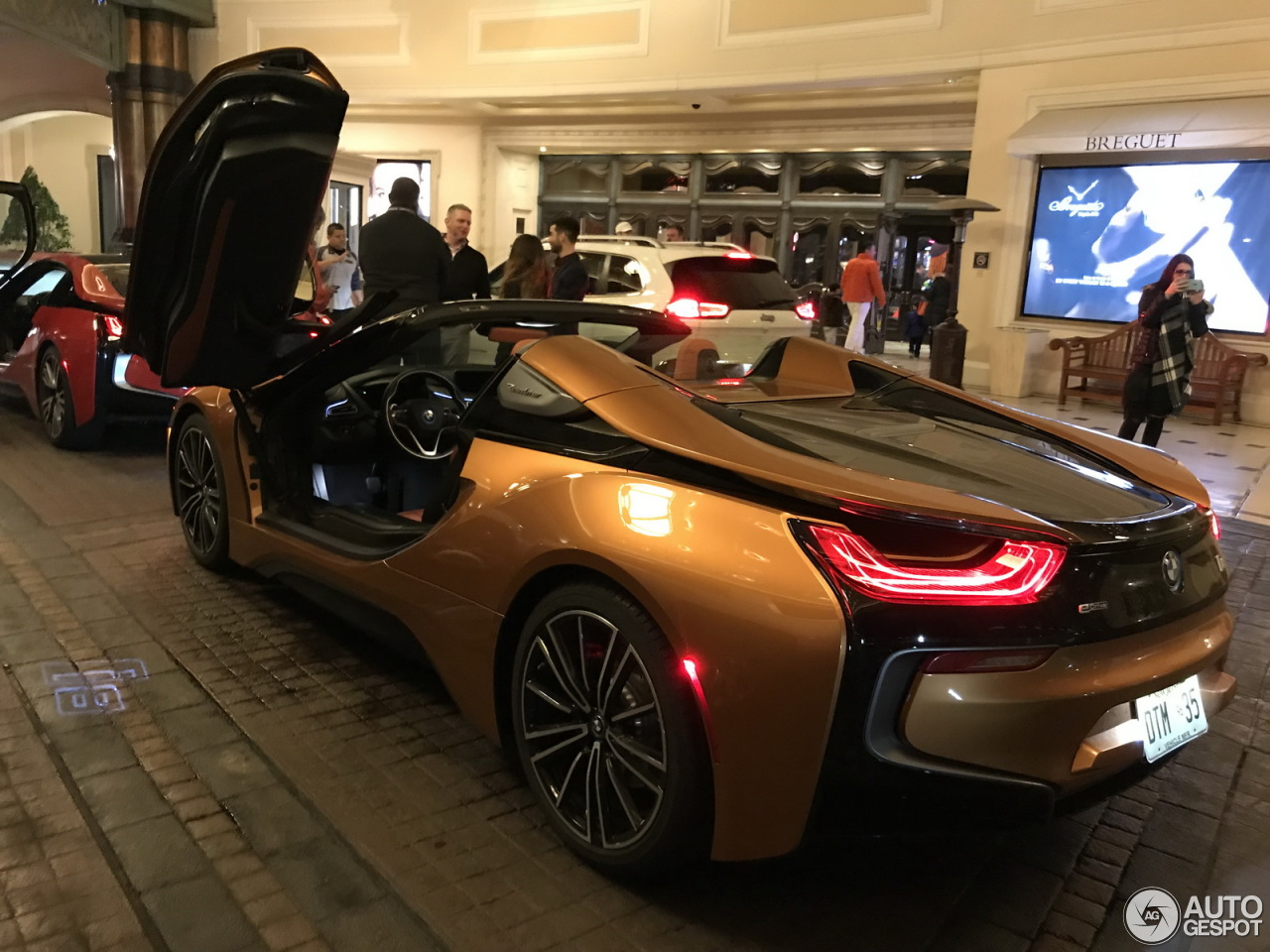 bmw i8 roadster 10 january 2018 autogespot. Black Bedroom Furniture Sets. Home Design Ideas