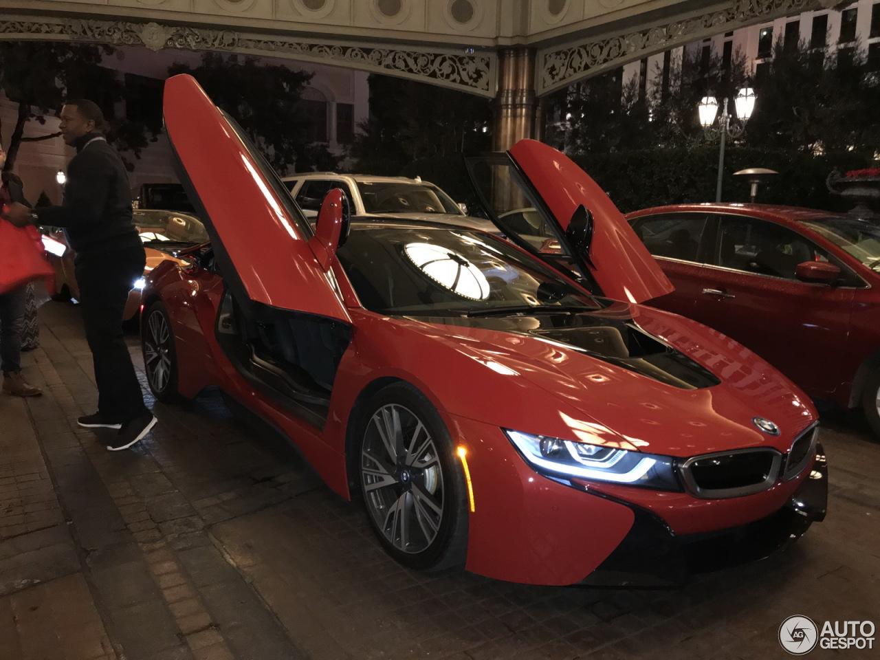 Bmw I8 Roadster Red Idokeren Com