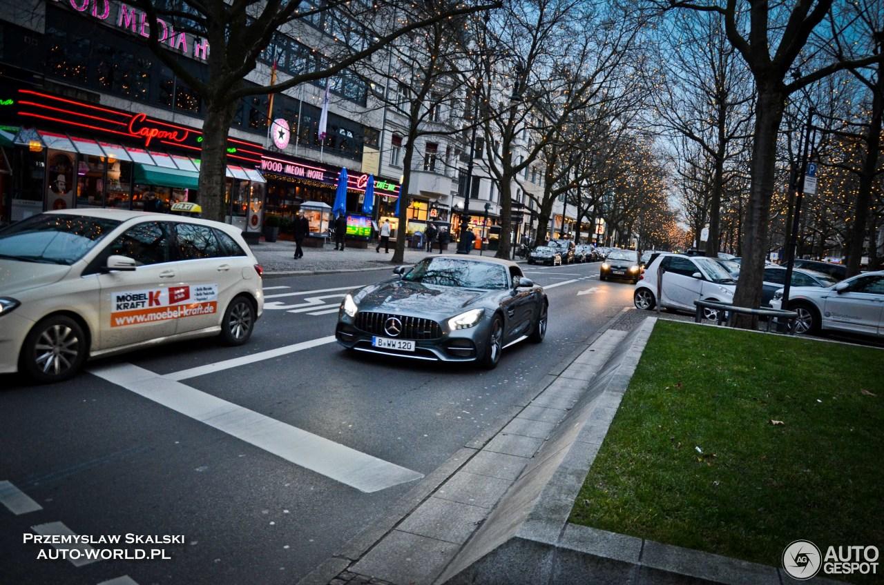 Mercedes-AMG GT C Roadster 1