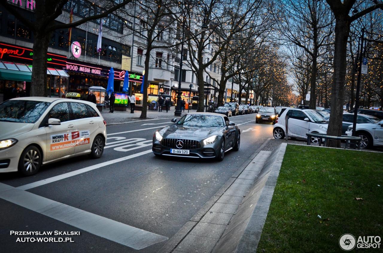 Mercedes-AMG GT C Roadster 3