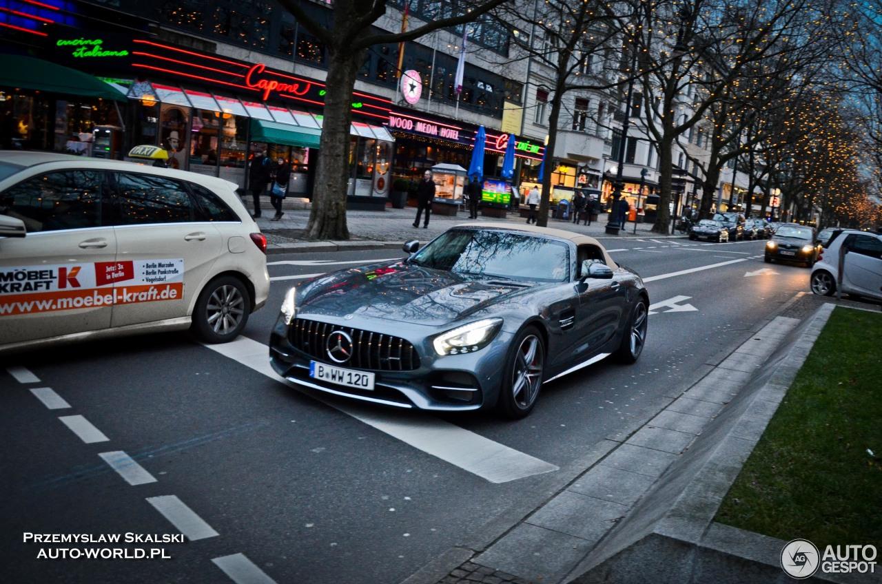 Mercedes-AMG GT C Roadster 4