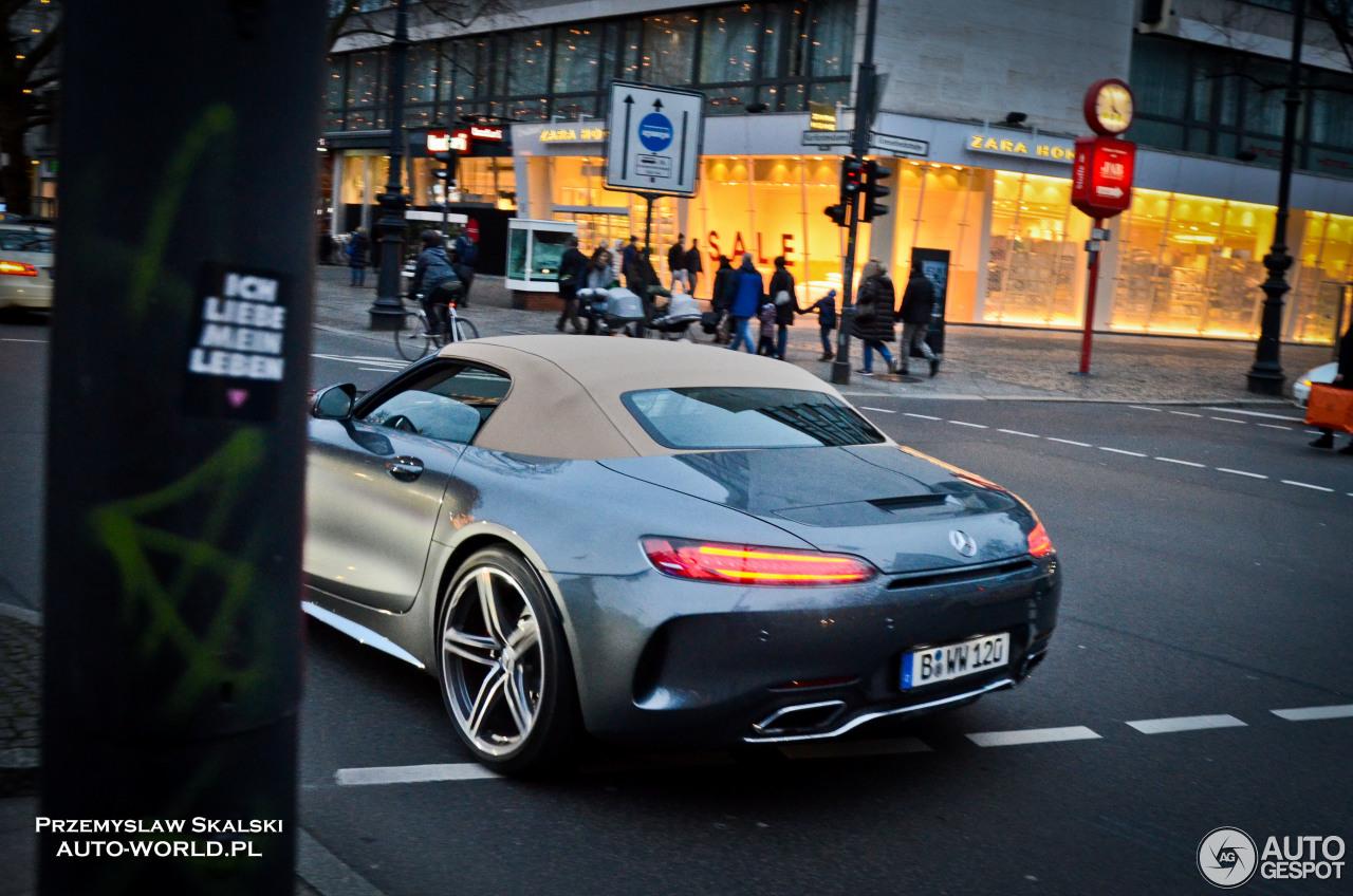 Mercedes-AMG GT C Roadster 5