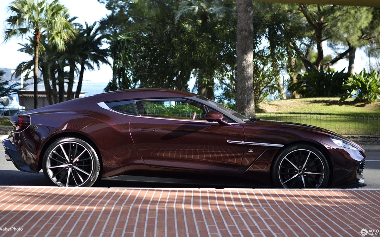 Aston Martin Vanquish Zagato January Autogespot - Aston martin vanquish zagato
