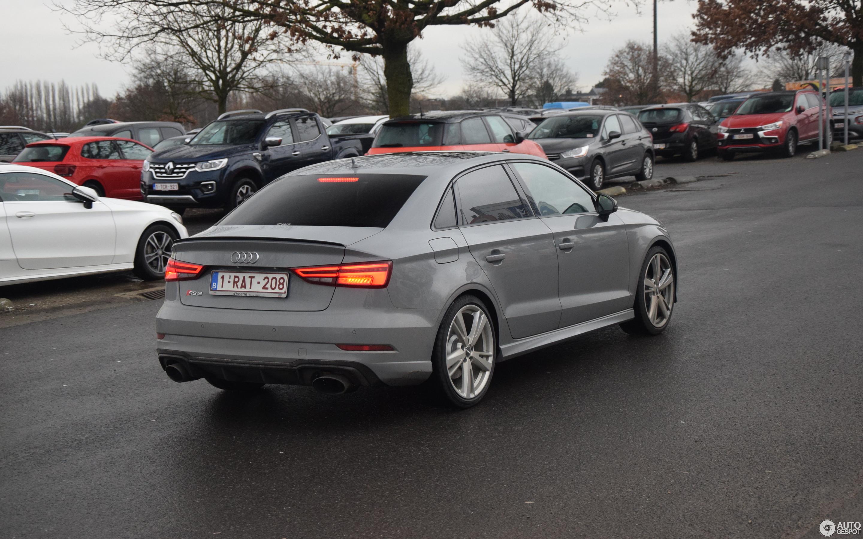 Audi RS3 Sedan 8V - 10 January 2018 - Autogespot