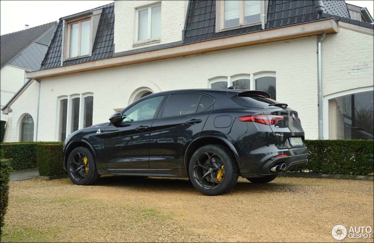 alfa romeo stelvio quadrifoglio 11 january 2018 autogespot. Black Bedroom Furniture Sets. Home Design Ideas