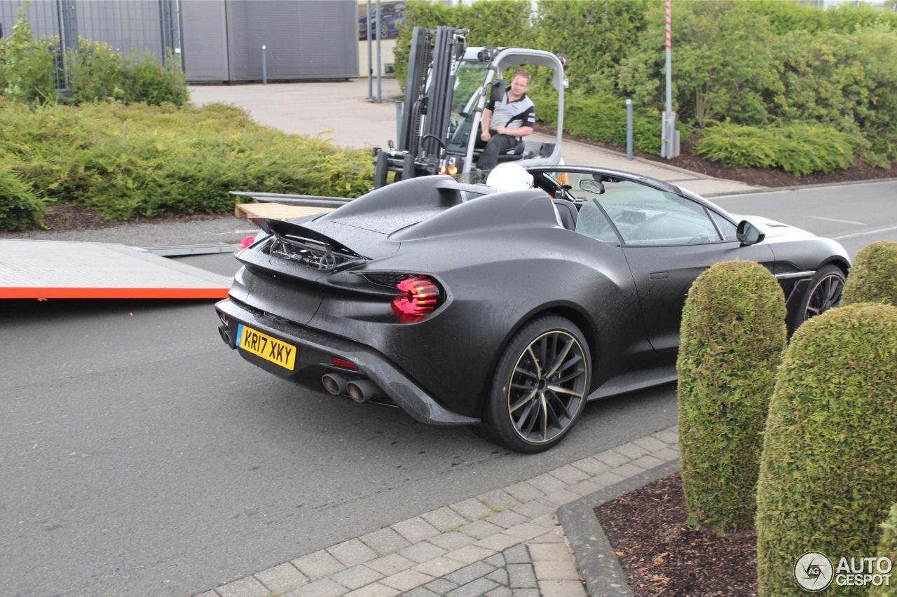 Aston Martin Vanquish Zagato Speedster 11 January 2018 Autogespot
