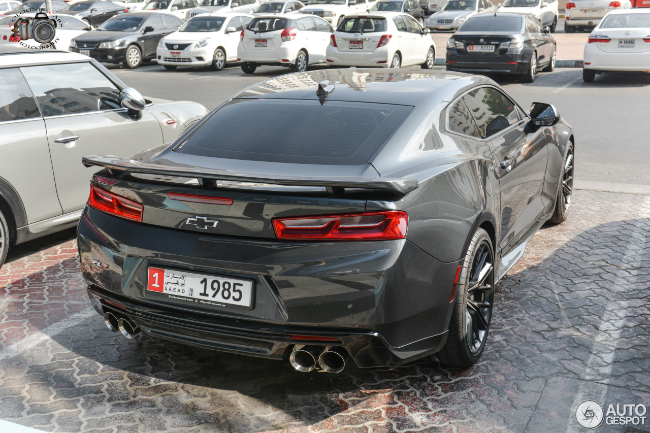 Chevrolet Camaro Zl1 2016 11 January 2018 Autogespot