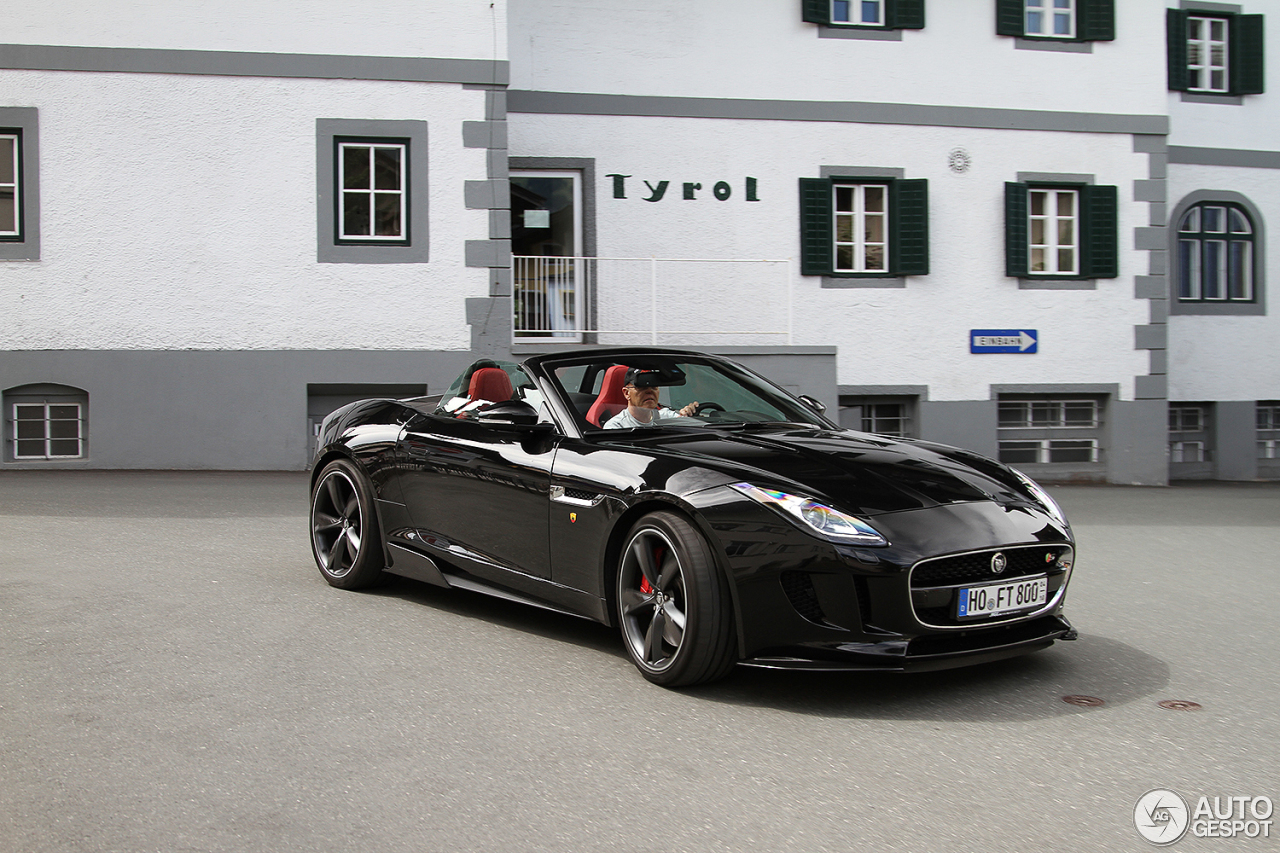 jaguar f type s v8 convertible 12 january 2018 autogespot. Black Bedroom Furniture Sets. Home Design Ideas