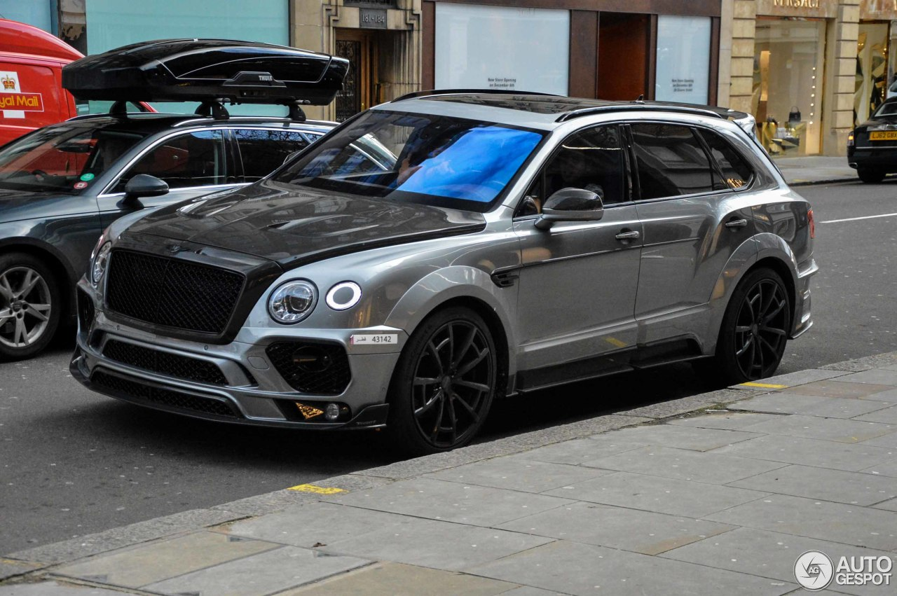 bentley mansory bentayga 13 january 2018 autogespot. Black Bedroom Furniture Sets. Home Design Ideas