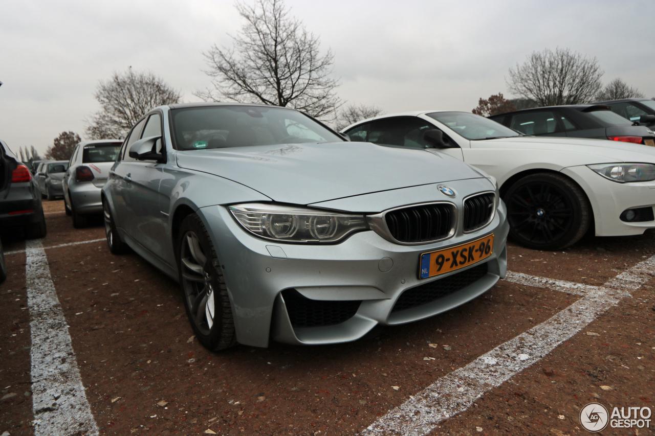 BMW M F Sedan January Autogespot - Bmw 2014 m3