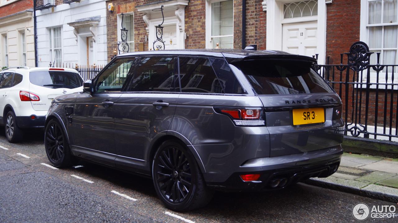 Range Rover Sport Svr 2018 >> Land Rover Range Rover Sport SVR - 13 January 2018 - Autogespot