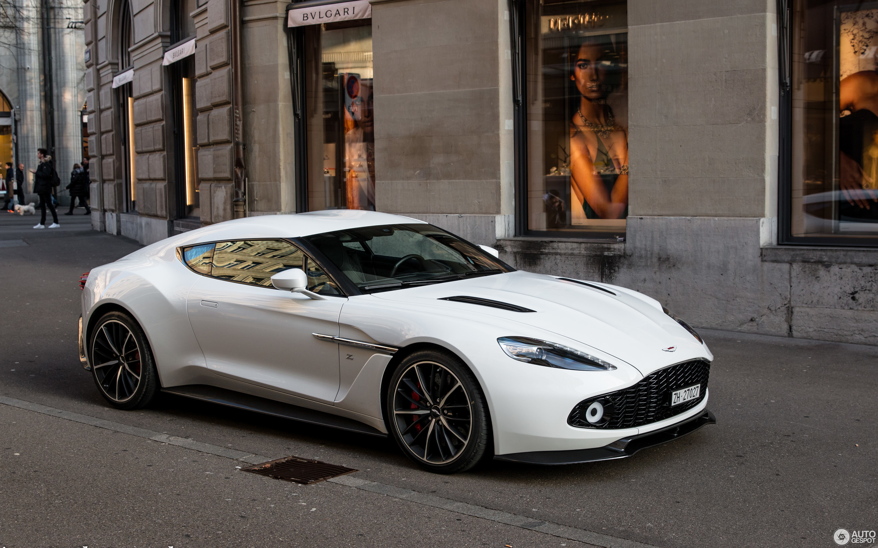 Aston Martin Vanquish Zagato - 13 January 2018 - Autogespot