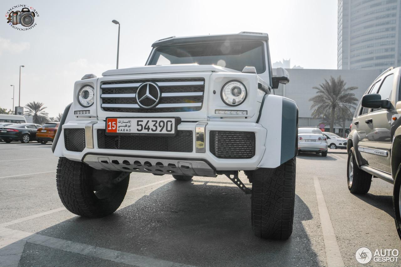 Mercedes-Benz G 500 4X4² - 14 January 2018 - Autogespot
