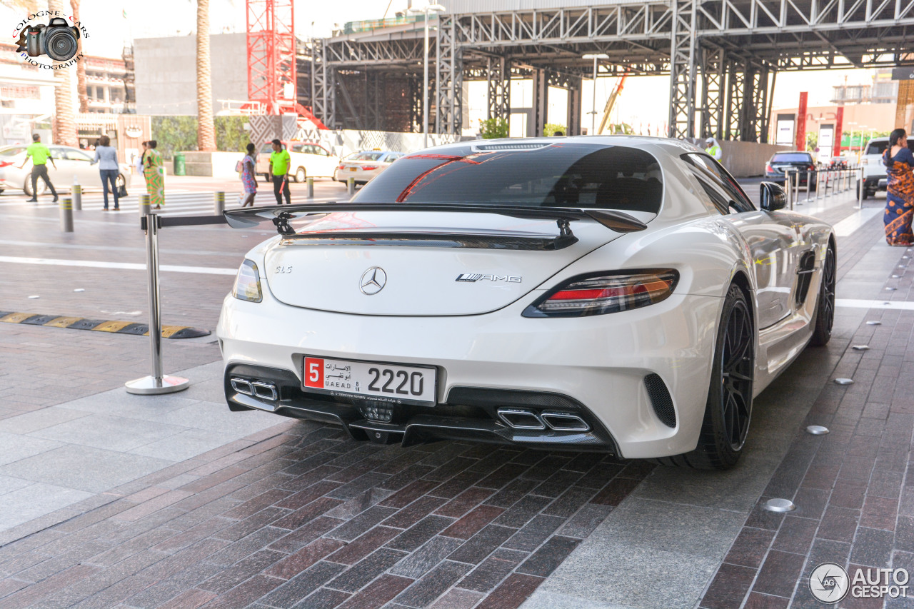 Mercedes-Benz SLS AMG Black Series 5
