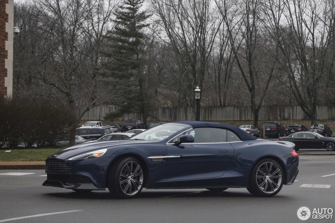 Aston Martin Vanquish Volante Neiman Marcus Edition 15 Januar 2018 Autogespot