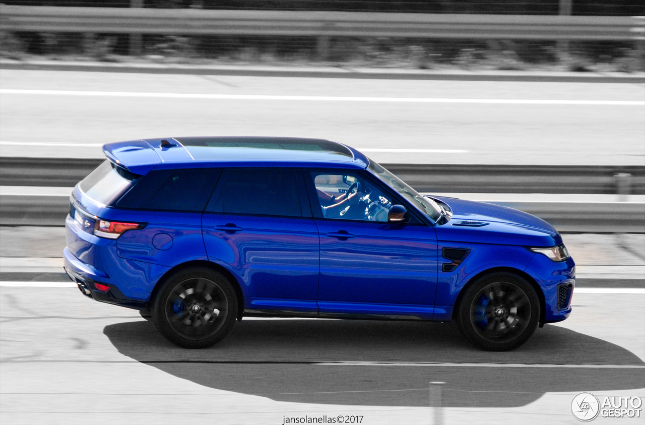 land rover range rover sport svr 16 january 2018 autogespot. Black Bedroom Furniture Sets. Home Design Ideas