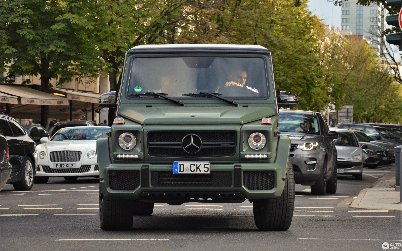 Mercedes Benz G 63 AMG 2012 16 Januar 2018 Autogespot