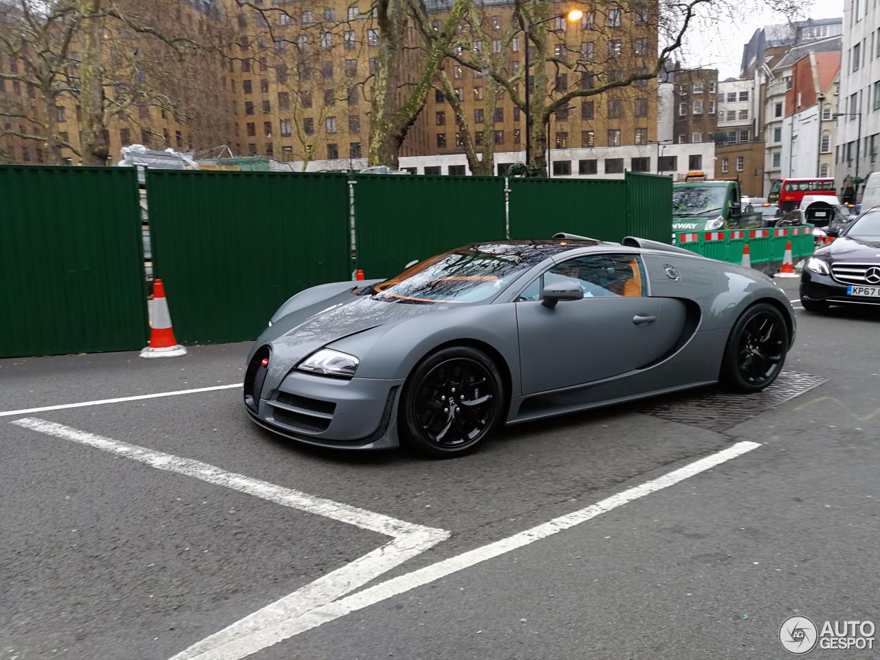 Bugatti Veyron 16.4 Grand Sport Vitesse - 17 January 2018 ...