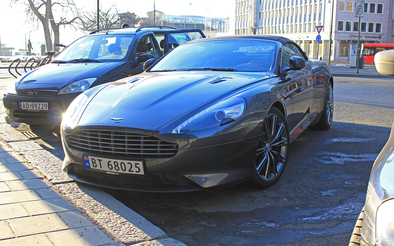 Aston Martin Virage Volante January Autogespot - 2018 aston martin virage