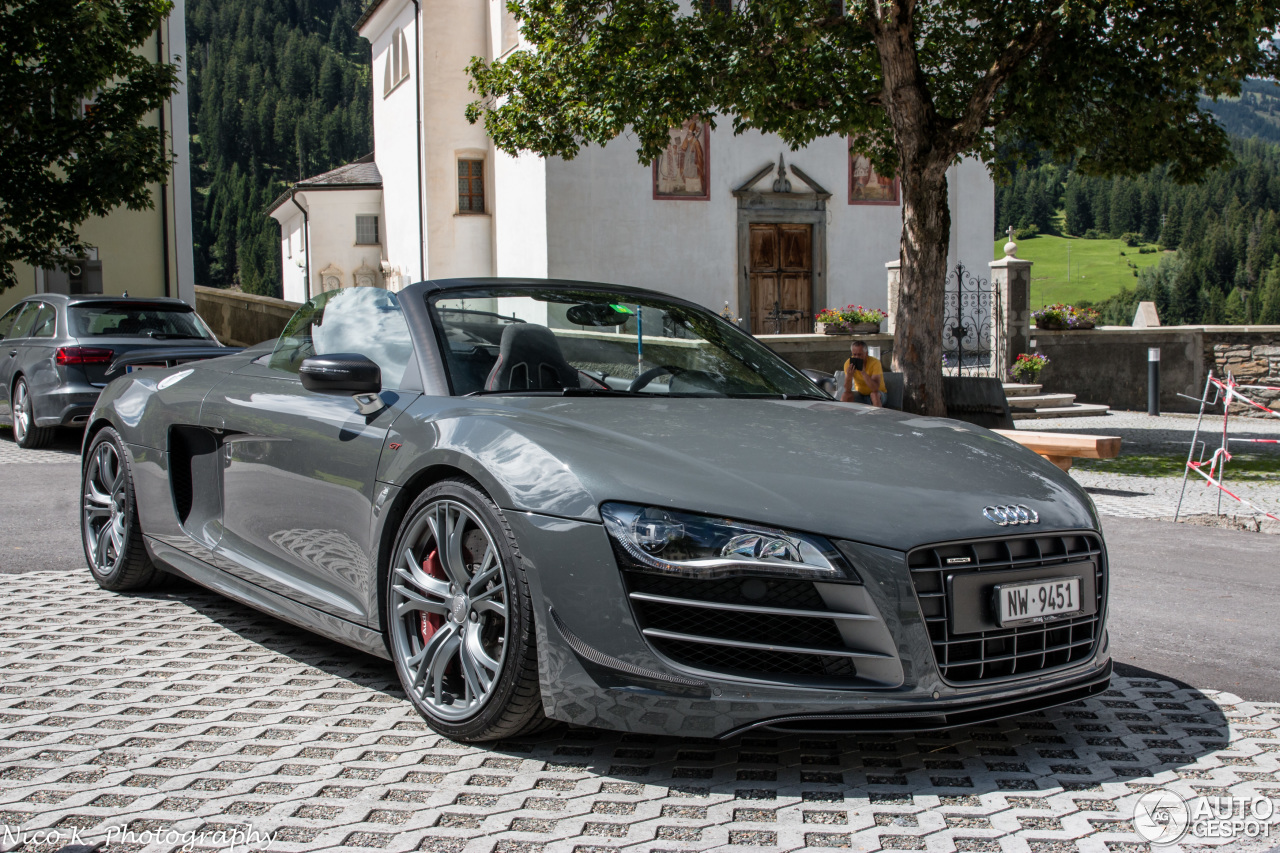 audi r8 gt spyder 18 january 2018 autogespot. Black Bedroom Furniture Sets. Home Design Ideas