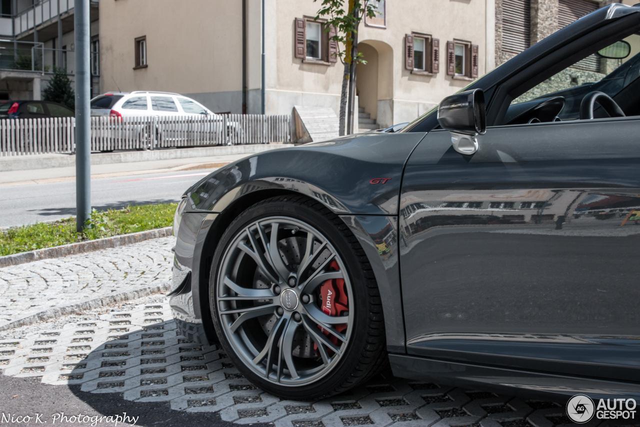Audi R8 Gt Spyder 18 January 2018 Autogespot
