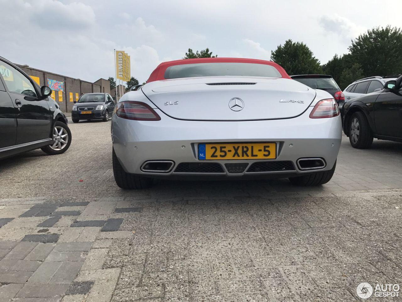 Mercedes Benz Sls Amg Roadster 18 January 2018 Autogespot