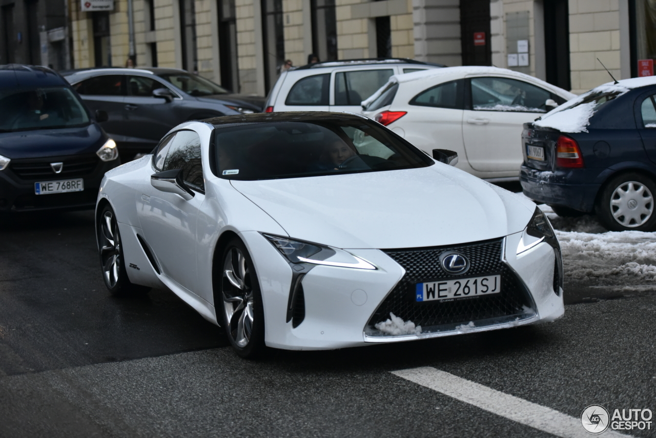lexus lc 500h 19 stycze 2018 autogespot. Black Bedroom Furniture Sets. Home Design Ideas